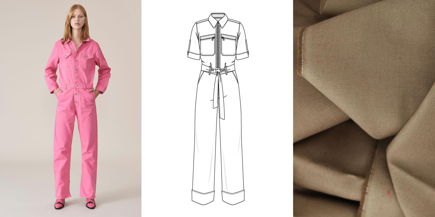 Les plus audacieuses la choisiront en jeans dans des couleurs inattendues,  comme du rose en référence aux années 80. 82b14f71a98